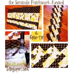 "check out this ""new"" technique that dates back to the Seminole Indian tribe... Make intricate designs in minutes. The possibilities are endless! http://sewsweettv.blogspot.com/2011/08/seminole-patchwork-revival.html"