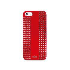 Cover iPhone 5 #Rock  #puro #puroitalianstyle #studs #red