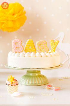 Babyparty-Unisex-Mädchen-Junge-Torte