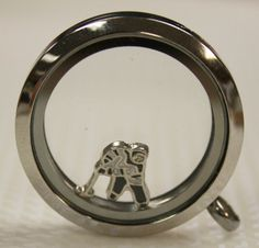 Hockey Player Charm for Floating Lockets ~ Compatible with Origami Owl and South Hill Designs