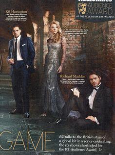 Game of Thrones cast (Kit Harington, Natalie Dormer, Richard Madden)
