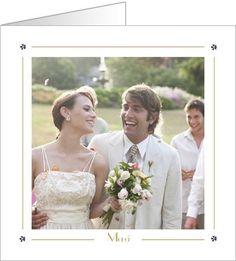 carte de remerciement mariage chic disponible en 4 formats et personnaliser sur popcarte - Carte Remerciement Mariage Pas Cher