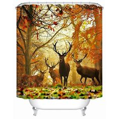 2016 New High Quality Waterproof Bathroom Products Shower Curtains Bathroom Curtain Deer Acceptable Personalized Custom Y-145 bathroom layout -- AliExpress Affiliate's Pin. View the item in details by clicking the VISIT button