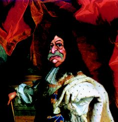 The Canada Day Cartoon Countdown continues:  Jacques Parizeau as Louis XIV, by Serge Chapleau, La Presse, 1995    From Caricature . Cartoon Canada, edited by Terry Mosher  Copyright Terry Mosher and members of Association of Canadian Editorial Cartoonists.