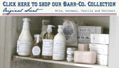 Barr-Co. collection - smells so clean and fresh.  One of my daily go-tos lotions and perfumes.
