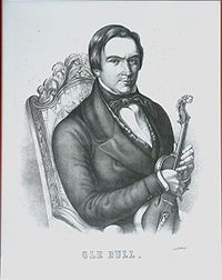 Violinist and composer Ole Bull Ole Bornemann Bull (5 February 1810 – 17 August 1880) was a Norwegian violinist and composer.[1][2]