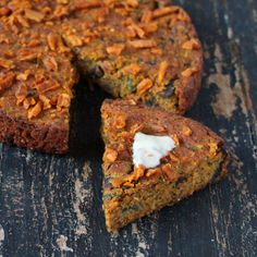 Sweet Potato Cornbread with Mushrooms and Kale. glutenfree vegan