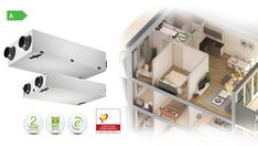 Slimline 150 Heat Recovery Ventilation, Mechanical Ventilation, Heat Exchanger, Noise Levels, Energy Consumption, Innovation, The Unit, Shelves, House