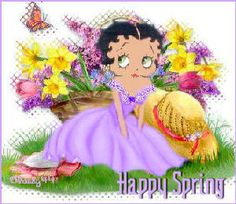 Betty Boop Easter image by Classy44 - Photobucket