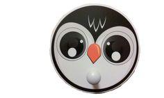 Children's Penguin Faced Coat Rack