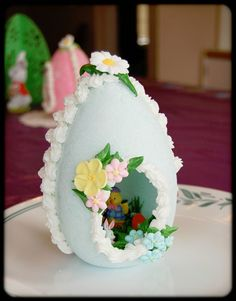 Sugar Egg Tutorial I have been asked many times to share a tutorial on my Easter Sugar Eggs. This would be a fun proj...