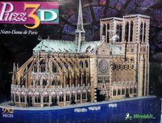-  Puzz 3d 952 pieces Jigsaw Puzzle Notre Dame de Paris Cathedral