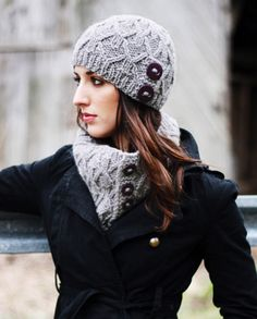 Ingrid Hat & Cowl in Caledon Hills Chunky Wool. Discover more Patterns by Caledon Hills at LoveKnitting. We stock patterns, yarn, needles and books from all of your favorite brands.