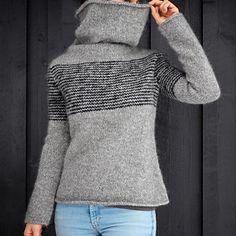 Ravelry: Yttergenser pattern by Strikkelisa Hand Knitted Sweaters, Sweater Knitting Patterns, Knitting Stitches, Knit Patterns, Hand Knitting, Knitting Projects, Knit Crochet, Crochet Jumpers, Knitwear