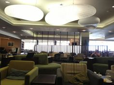 Waiting for our flight to Sydney at the Air New Zealand Koru Lounge. There lounge is always very nice. Awesome Showers, Air New Zealand, Auckland, Places Ive Been, Sydney, Waiting, Lounge, Ceiling Lights, Nice