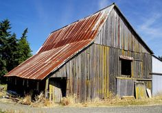 barn with rusty roof - Google Search