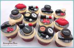 MAC Make Up Cupcakes