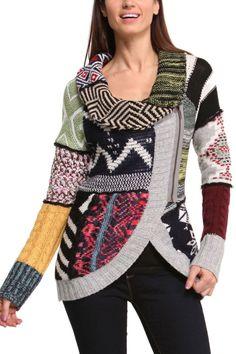 Farb-und Stilberatung mit www.farben-reich.com - Desigual Sweater Adriana 47J2140 | Fun Fashion | Canada |