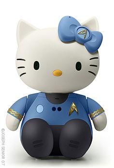 Hello Spock Kitty