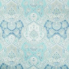 Buy Artemest Ocean by Kravet - Made-to-Order designer Textiles from Dering Hall's collection of Damask Ethnic Paisley Prints Performance.