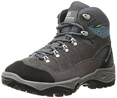 Scarpa Womens Mistral GTX Hiking Boots Smoke  Polor Blue 42  Etip Lite Gripper Glove Bundle * Check this awesome product by going to the link at the image.