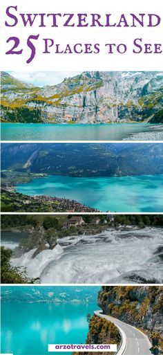 25 things to see in amazing Switzerland. Find out where to go in Switzerland plus all the important travel information you need for Switzerland