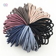 Set of Fifty Nylon Hair Scrunchies  Price: 8 & FREE Shipping  4 the love of online shopping