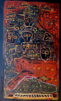 Raw Art by my friend from Santa Fe Kelly Moore.