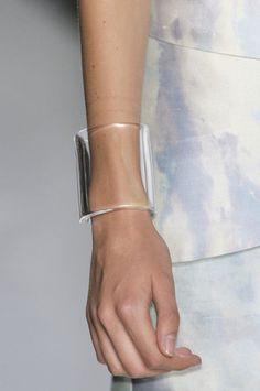 transparent jewellery bracelet cuff
