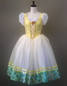 A typical Romantic peasant tutu made according to the classical tradition. The…