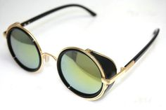 lovely Round Sunglass in green color : Trends4Ever.Com