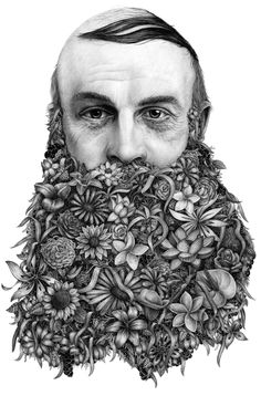 Le Barbu by Violaine & Jeremy,modern surrealism in their subjectmatter.