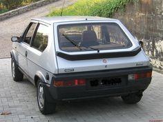 Fiat Ritmo Abarth achterzijde