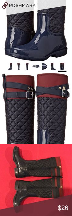Tommy Hilfiger Kids Jessie Rain Boot See last pic for description Tommy Hilfiger Shoes Rain & Snow Boots