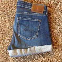 Big Star jean shorts Women's size 28 Big Star Jean shorts. Super super cute bought off another posher your gain my lose they don't fit. Big Star Shorts Jean Shorts