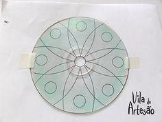 Lave o cd e fixe o desenho