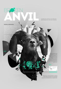 Bovine Series by Aldo Pulella, via Behance
