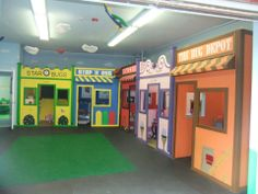 """Camper 5 and under enjoy the fun inside environment on those """"way to hot"""" and """"raining like crazy"""" days at The Lady Bug Playhouse #theladybugplayhouse #glenhead"""