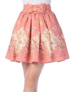 Liz Lisa | key Pattern Skirt