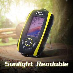 FishingSir Portable Wireless Sonar Sensor Deeper Fish Finder