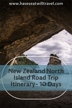Make the most of your time with a North Island New Zealand road trip! Spot glow worms, dolphins and kiwis with geothermal activity galore!