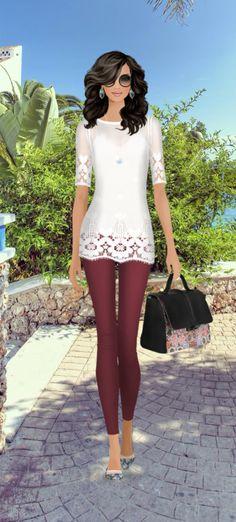 Fashion Game- Spanish Socialite