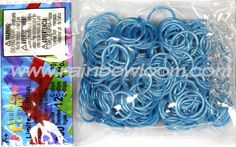 Blue Frost Bands (Limited Edition) | Rainbow loom