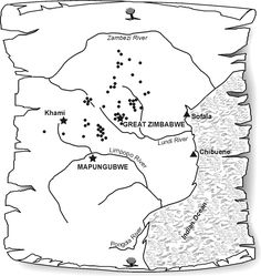 Graad 6 Die vroegste ryke in suidelike afrika By OpenStax Zimbabwe, Afrikaans, 15th Century, Archaeology, Art History, National Parks, Africa, Maps, Scenery
