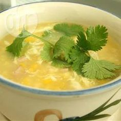 Chicken and Sweetcorn Soup @ allrecipes.co.uk
