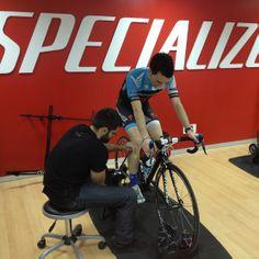 Body Geometry Fit para el Specialized/Fundación Alberto Contador Team.