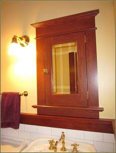 Installing Recessed Medicine Cabinets