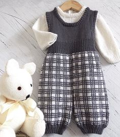 Baby Tartan Overalls and Jumper P056