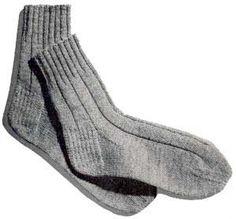 English-Rib Anklets | Knitting Patterns