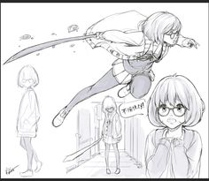 Fuyukai Sketches by kasai.deviantart.com on @DeviantArt